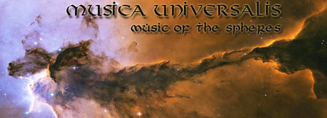 Musica Universalis title banner