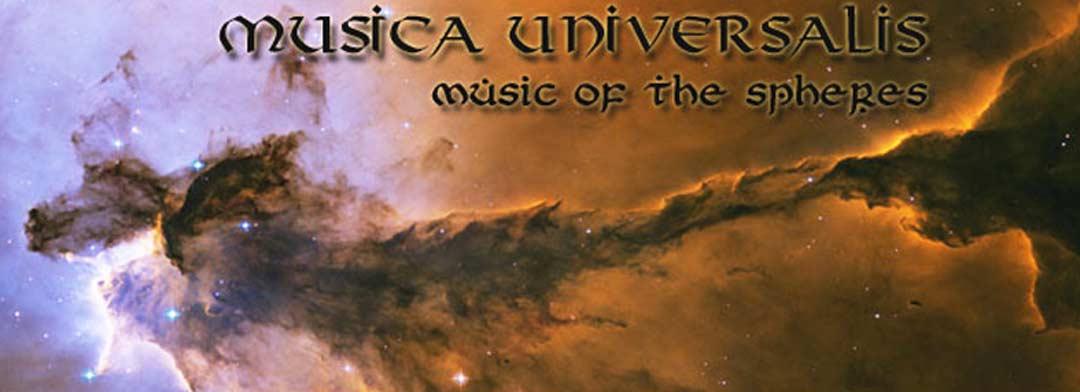 Musica Universalis title banner