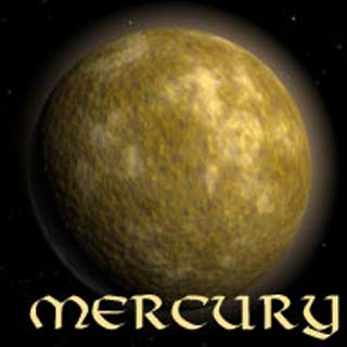 an image of the planet Mercury