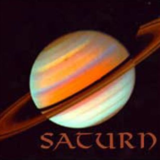 an image of the planet Saturn