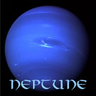 an image of the planet Neptune
