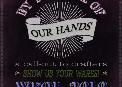 By the work of our hands - a WFOL call for crafts