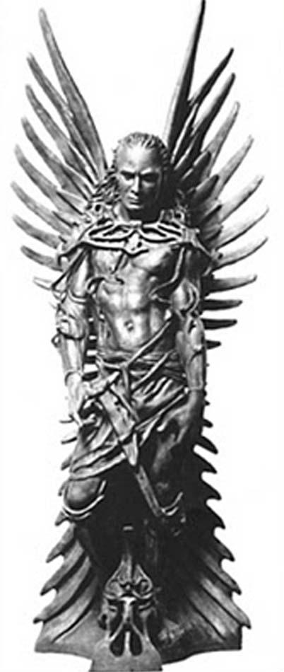 Guttke Nephilim sculpture